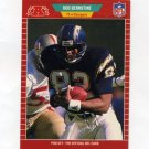 1989 Pro Set Football #357 Rod Bernstine RC - San Diego Chargers