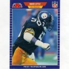 1989 Pro Set Football #352 David Little - Pittsburgh Steelers