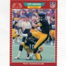 1989 Pro Set Football #342 Gary Anderson - Pittsburgh Steelers