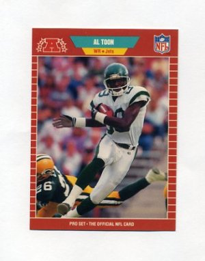 1989 Pro Set Football 308 Al Toon