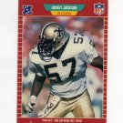 1989 Pro Set Football #270 Rickey Jackson - New Orleans Saints