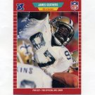 "1989 Pro Set Football #265 James ""Jumpy"" Geathers - New Orleans Saints"