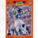 1989 Pro Set Football #227 Joey Browner - Minnesota Vikings