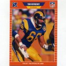 1989 Pro Set Football #205 Tom Newberry RC - Los Angeles Rams