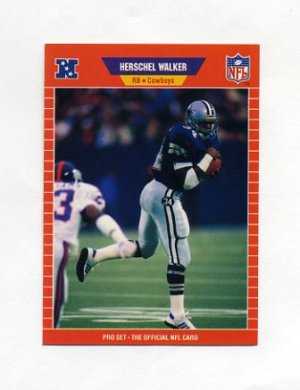 1989 Pro Set Football 096 Herschel Walker