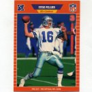 1989 Pro Set Football #095 Steve Pelluer - Dallas Cowboys