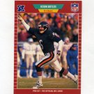 1989 Pro Set Football #036 Kevin Butler - Chicago Bears