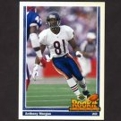 1991 Upper Deck Football #637 Anthony Morgan RC - Chicago Bears