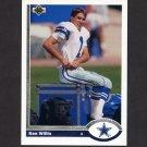1991 Upper Deck Football #514 Ken Willis - Dallas Cowboys