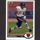 1991 Upper Deck Football #501 Wendell Davis - Chicago Bears