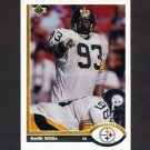 1991 Upper Deck Football #413 Keith Willis - Pittsburgh Steelers