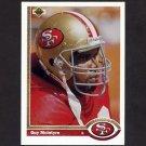 1991 Upper Deck Football #373 Guy McIntyre - San Francisco 49ers