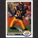 1991 Upper Deck Football #362 Henry Ellard - Los Angeles Rams