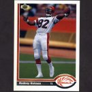1991 Upper Deck Football #361 Rodney Holman - Cincinnati Bengals