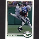 1991 Upper Deck Football #359 William Frizzell RC - Philadelphia Eagles