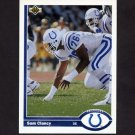 1991 Upper Deck Football #347 Sam Clancy - Indianapolis Colts