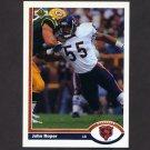 1991 Upper Deck Football #344 John Roper - Chicago Bears