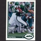 1991 Upper Deck Football #329 Brad Baxter - New York Jets