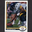 1991 Upper Deck Football #328 Dermontti Dawson - Pittsburgh Steelers