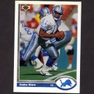 1991 Upper Deck Football #301 Andre Ware - Detroit Lions