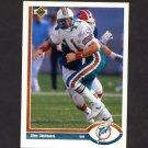 1991 Upper Deck Football #251 Jim C. Jensen - Miami Dolphins