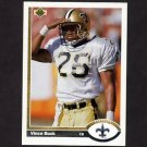1991 Upper Deck Football #228 Vince Buck - New Orleans Saints