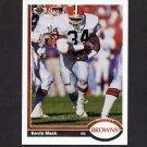 1991 Upper Deck Football #225 Kevin Mack - Cleveland Browns