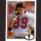 1991 Upper Deck Football #195 Tim Green - Atlanta Falcons