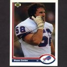 1991 Upper Deck Football #153 Shane Conlan - Buffalo Bills