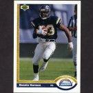 1991 Upper Deck Football #149 Ronnie Harmon - San Diego Chargers