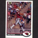 1991 Upper Deck Football #132 Ricky Proehl - Phoenix Cardinals