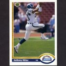 1991 Upper Deck Football #126 Anthony Miller - San Diego Chargers