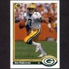 1991 Upper Deck Football #117 Don Majkowski - Green Bay Packers