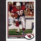 1991 Upper Deck Football #114 Vai Sikahema - Phoenix Cardinals