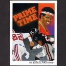 1991 Upper Deck Football #085 Deion Sanders / Team Checklist - Atlanta Falcons