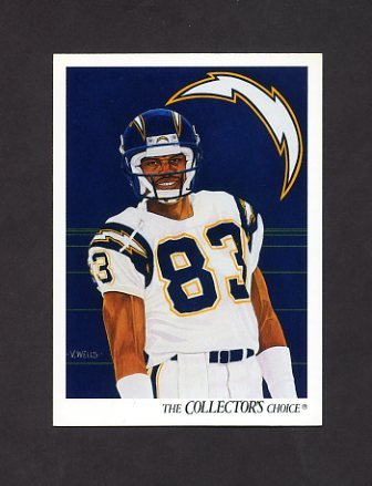 1991 Upper Deck Football #079 Anthony Miller / Team Checklist - San Diego Chargers