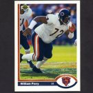 1991 Upper Deck Football #045 William Perry - Chicago Bears