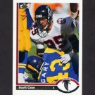 1991 Upper Deck Football #038 Scott Case - Atlanta Falcons