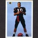 1991 Upper Deck Football #001 Dan McGwire CL - Seattle Seahawks