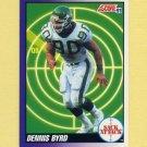 1991 Score Football #659 Dennis Byrd SA - New York Jets