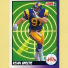 1991 Score Football #658 Kevin Greene SA - Los Angeles Rams