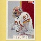 1991 Score Football #643 Earnest Byner - Washington Redskins