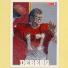 1991 Score Football #629 Steve DeBerg - Kansas City Chiefs