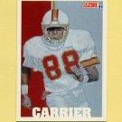 1991 Score Football #626 Mark Carrier - Tampa Bay Buccaneers