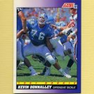 1991 Score Football #607 Kevin Donnalley RC - Houston Oilers