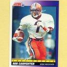 1991 Score Football #570 Rob Carpenter RC - Cincinnati Bengals
