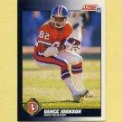 1991 Score Football #563 Vance Johnson - Denver Broncos