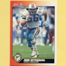 1991 Score Football #445 John Offerdahl - Miami Dolphins