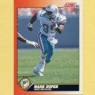 1991 Score Football #430 Mark Duper - Miami Dolphins
