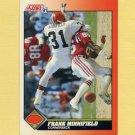 1991 Score Football #414 Frank Minnifield - Cleveland Browns